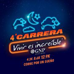 """4a. Carrera Nocturna """"Vivir es Increíble"""" corre por un sueño"""