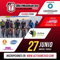 Bicimaniacos Cycling Challenge FECHA 2 - Puebla 2021