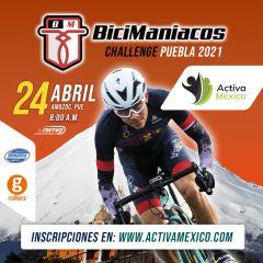 Bicimaniacos Cycling Challenge - Puebla 2021